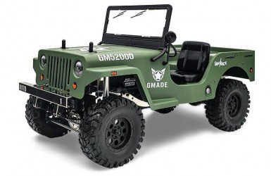 GMade Military Sawback 4 LS 1/10 RTR 4WD Brushed Off-Road Truck