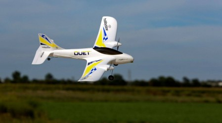 Duet RTF Trainer Plane with Virtual Instructor
