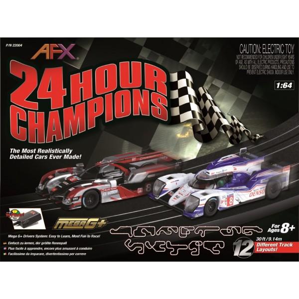 AFX 24 Hour Champions Set, 30ft (Toyota TS040/ Audi R18)