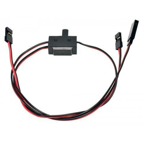 APEX RC JR Style 3 Way On/Off Switch with Charge Lead