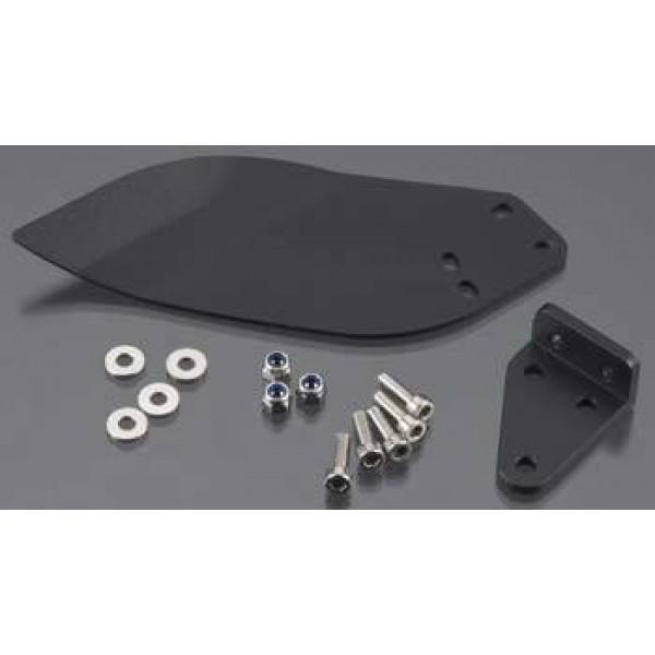 Hydro Turn Fin 2mm CNC Black Anodized UL-1