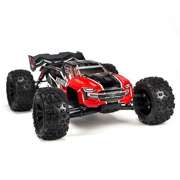 Arrma 1/8 Kraton 6S 4WD BLX RTR Speed Monster Truck,  Red