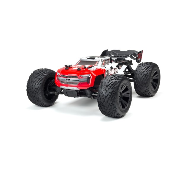 Arrma Kraton 4x4 BLX Painted & Decaled Body Red