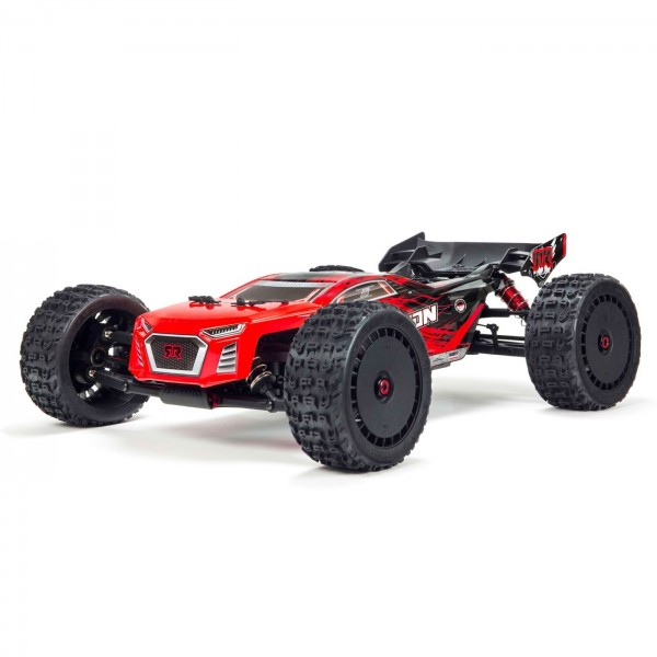 Arrma 1/8 TALION 6S BLX RTR 4WD Brushless Truggy, Red/Black