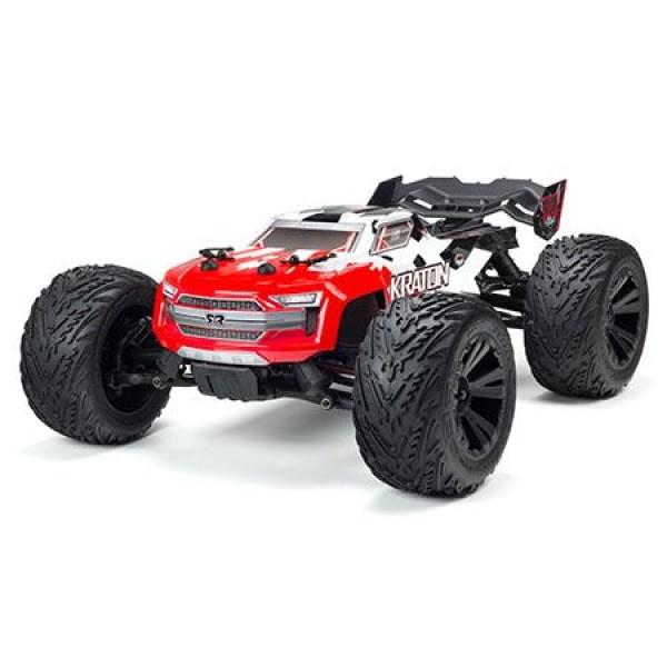 Arrma Kraton 4x4 4S BLX RTR Brushless 1/10 Monster Truck, Red