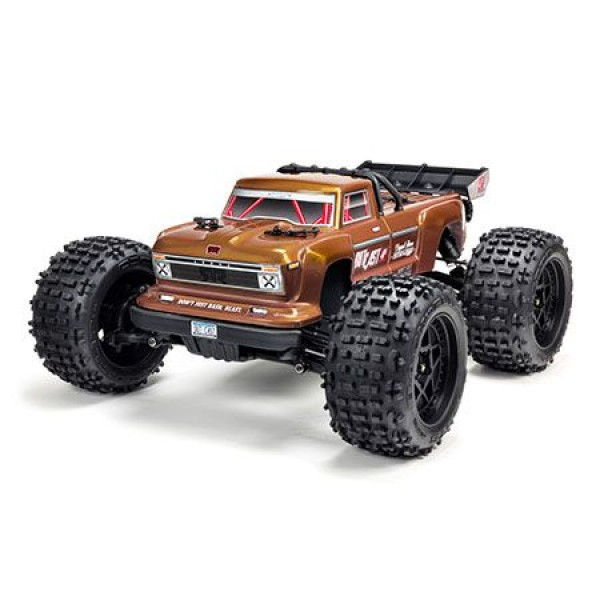 Arrma Outcast 4x4 4S BLX RTR 1/10 Brushless Truggy, Bronze