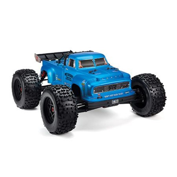 Arrma 1/8 NOTORIOUS BLX 6S 4WD Brushless 1/8 Stunt Truck, Blue