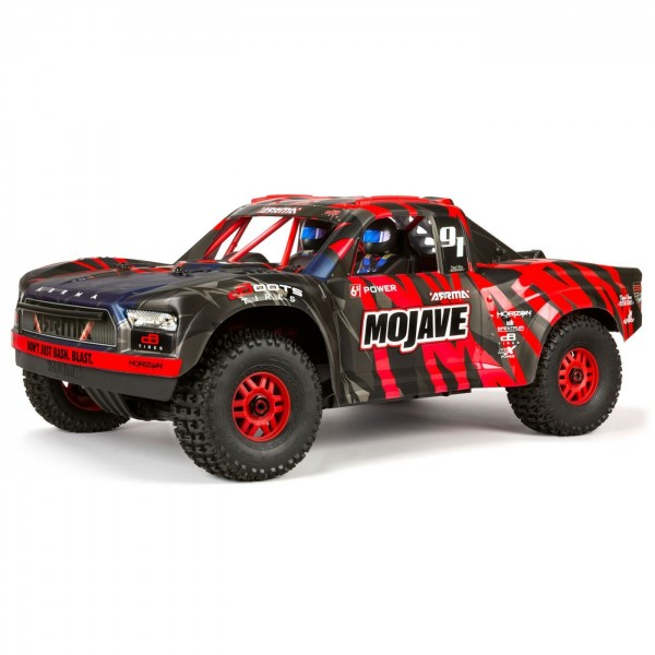 Arrma Mojave 6S BLX 1/7 4WD Brushless Desert Racer, Black/Red
