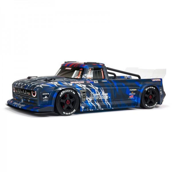 Arrma INFRACTION 6S BLX 1/7 All-Road 4WD Truck, Blue