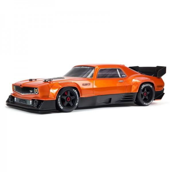 Arrma FELONY 6S BLX Street Bash 1/7 All-Road 4WD Muscle Car, Orange