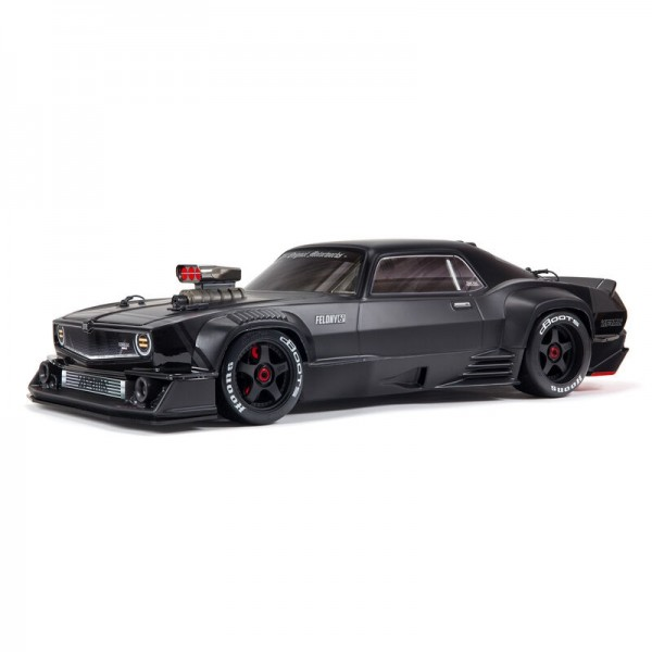 Arrma FELONY 6S BLX Street Bash 1/7 All-Road 4WD Muscle Car, Black