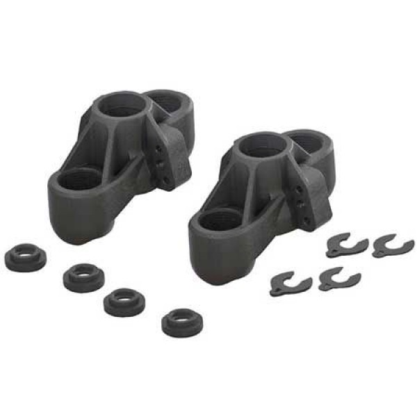 Arrma Front Composite Steering Blocks for 6S (2)
