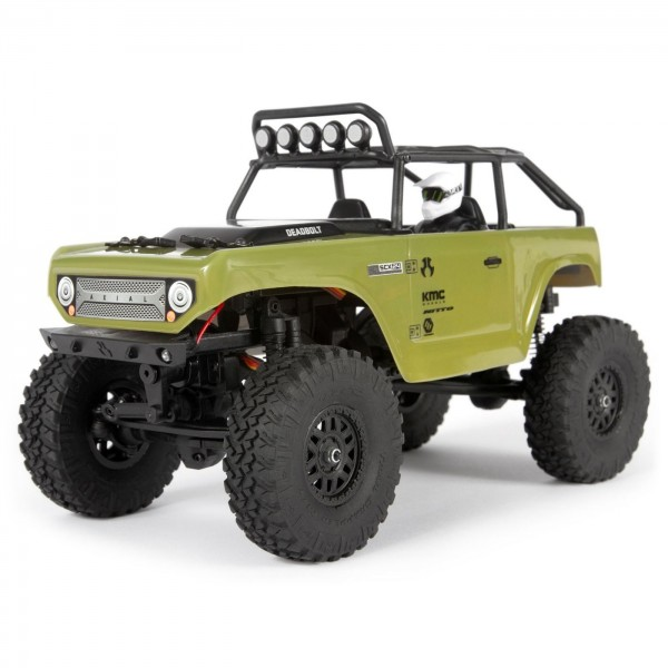 Axial SCX24 Deadbolt RTR 1/24 Brushed 4WD Crawler, Green