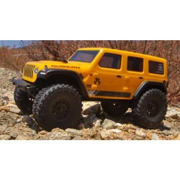 Axial SCX24 1/24 2019 Jeep Wrangler JLU CRC 4WD RTR Rock Crawler, Yellow