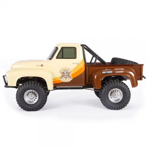 Axial SCX10 II 1955 Ford F-100 1/10 4wd RTR Rock Crawler, Brown