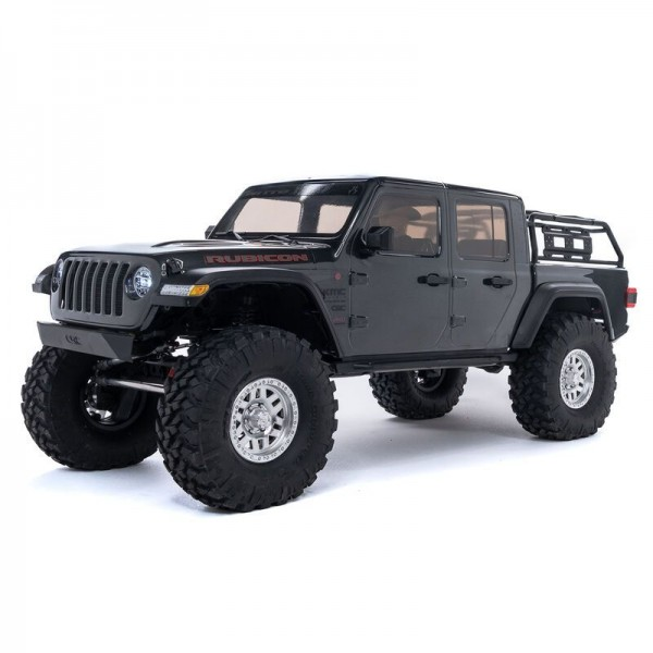 Axial SCX10 III Jeep JT Gladiator 1/10 4WD RTR Crawler with Portals, Gray