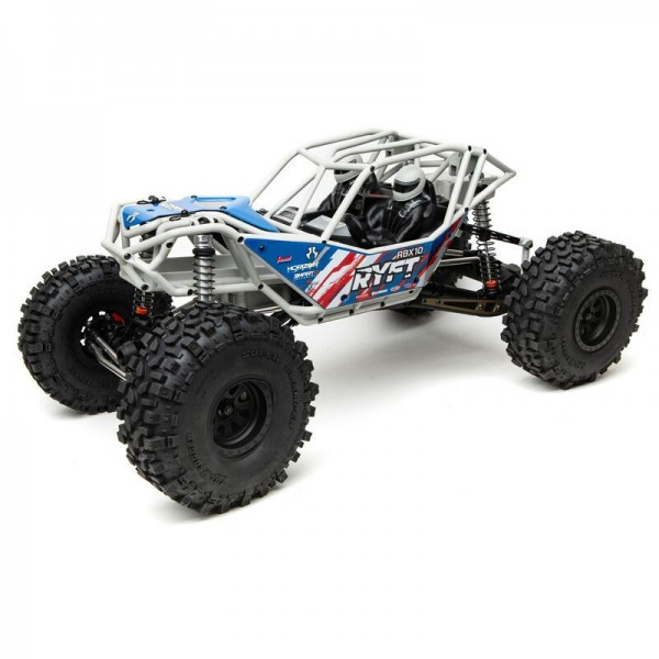 Axial RBX10 Ryft 1/10 4wd Rock Bouncer KIT, Gray