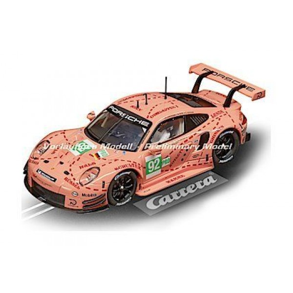 "Carrera of America Porsche 911 RSR #92 ""Pink Pig Design"", 1/24 w/Lights"