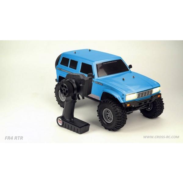 Cross RC FR4 1/10 Demon 4x4 RTR;Crawler, Blue