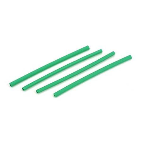 "Heat Shrink Tube 3x 3/32"" Green (4)"