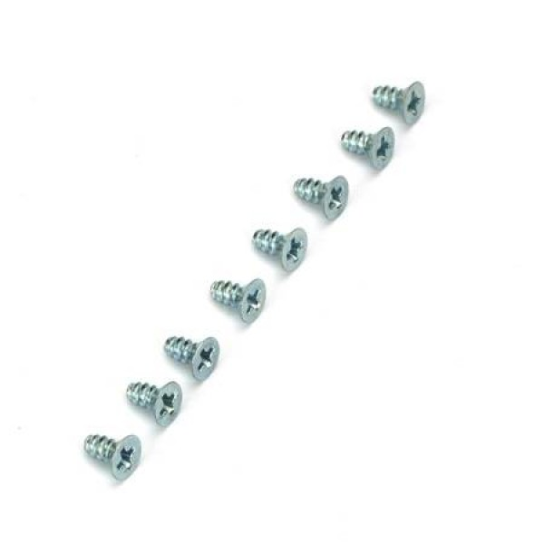 3x6mm Flat Head Selftap Screws (8)
