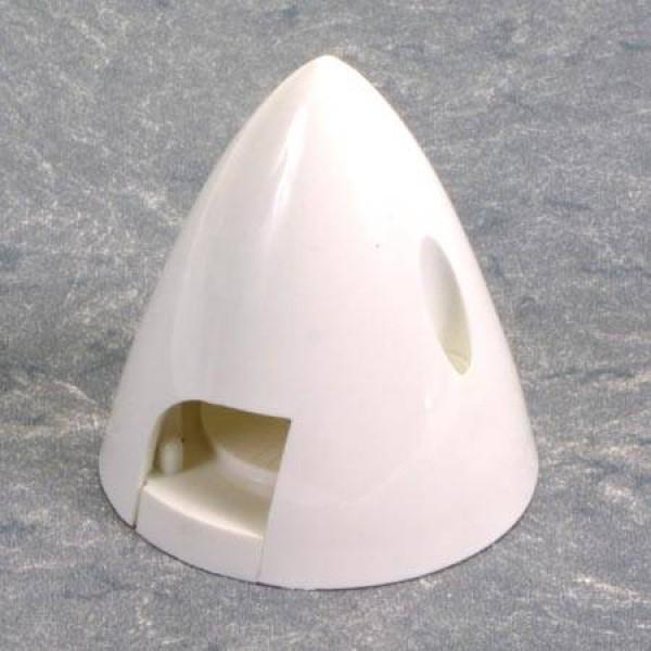 """4 Pin Spinner 2-1/4"""" White"""