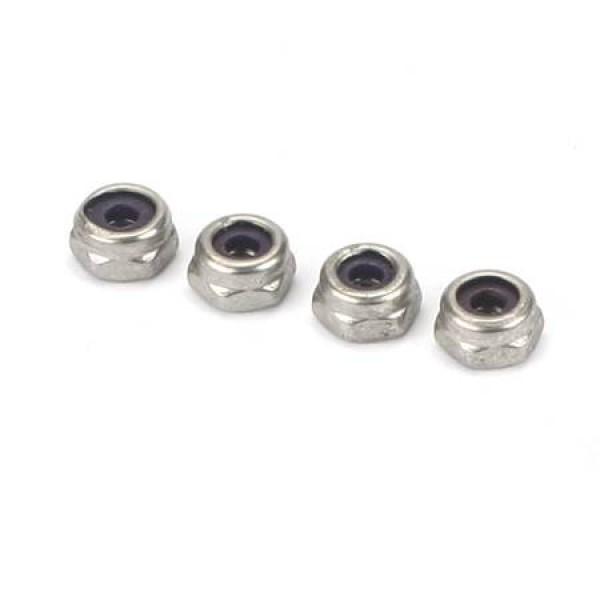SS Nylon Insert Lock Nut 6-32 (4)