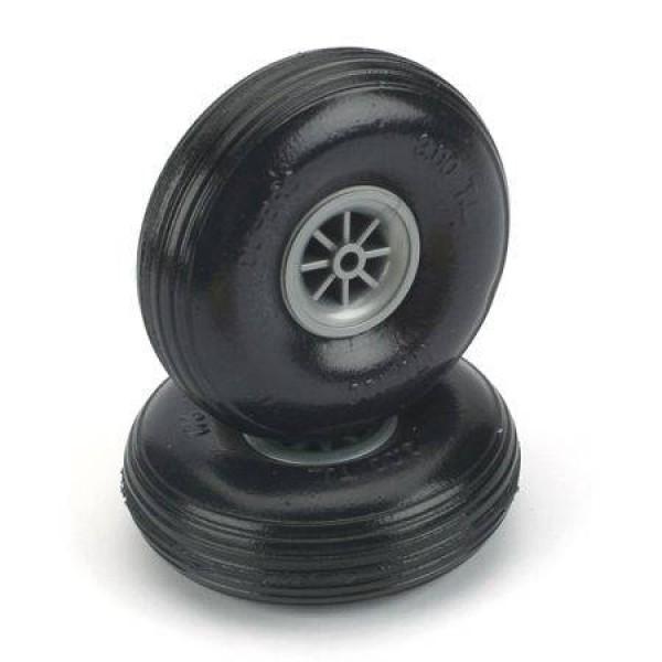 """Treaded Lite Wheels 3-1/2"""" (2)"""