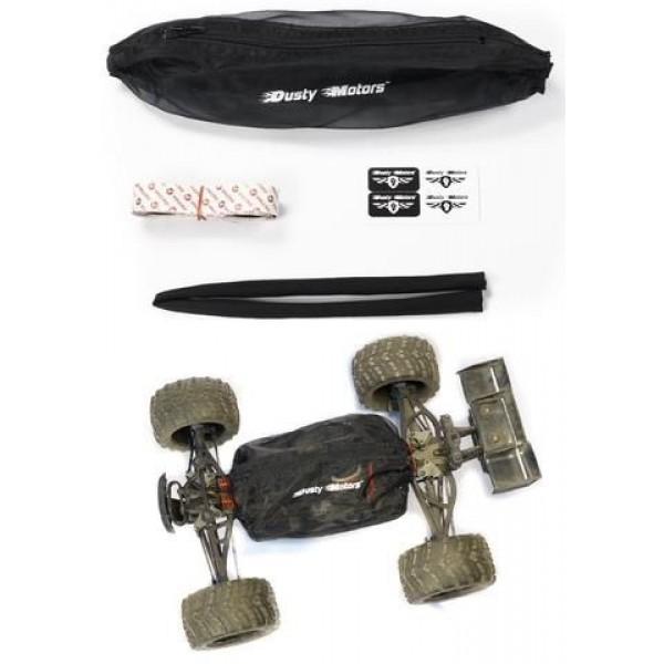 Dusty Motors Protection Cover Shroud for E-revo/Summit, Black