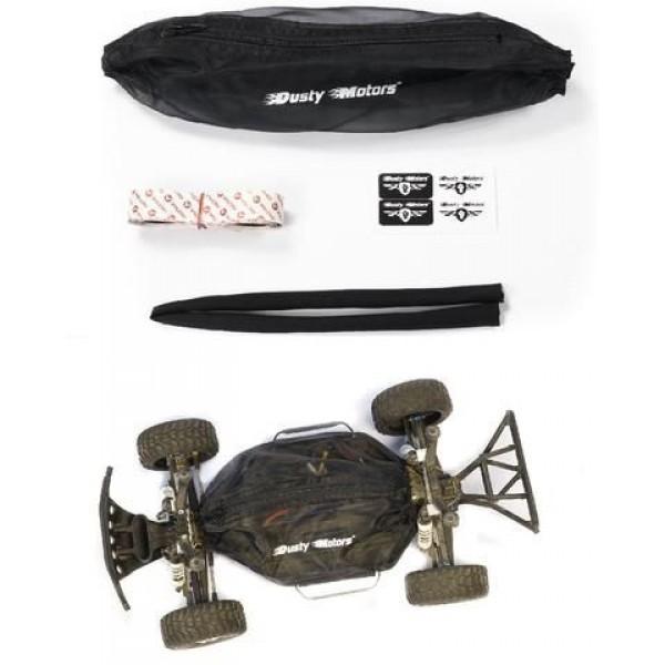 Dusty Motors Protection Cover Shroud for Slash 4x4 (Not LCG), Black