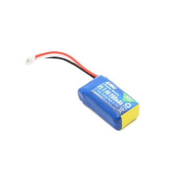 E-Flite LiPo Battery 280mAh 30C 7.4V (2S) with JST PH Connector