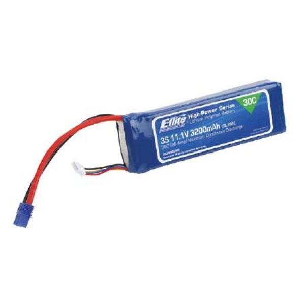 E-Flite LiPo Battery 3200mAh 30C 11.1V (3S)