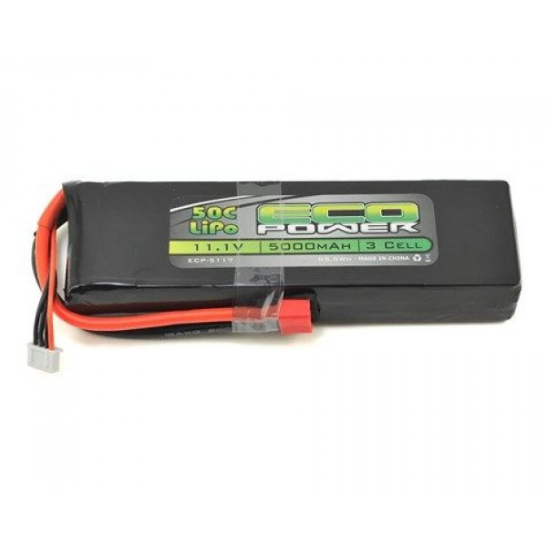 "EcoPower LiPo Battery ""Electron"" 3S 11.1V 50C 5000mAh"