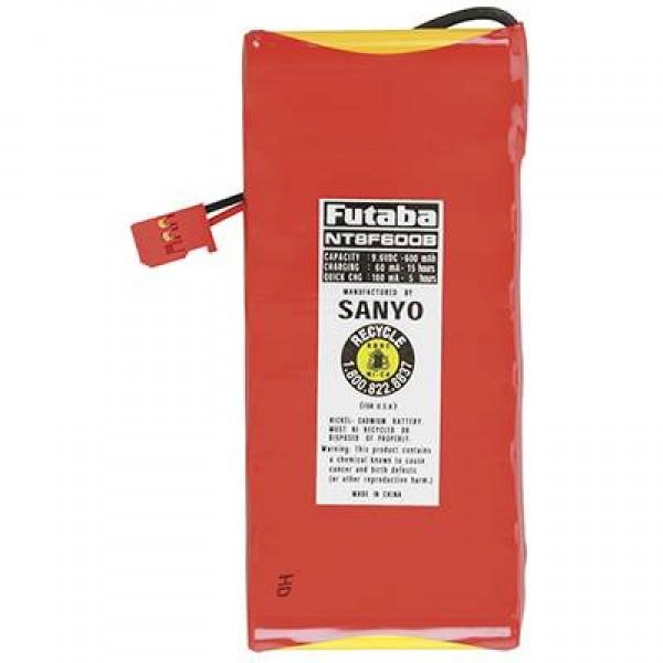 Futaba NiCd Battery 600mAh 9.6V (8S)