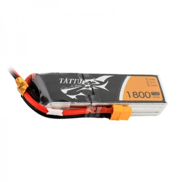 Gens Ace LiPo Pack Battery 1800mAh 75C 11.1V (3S) with XT60 Connector