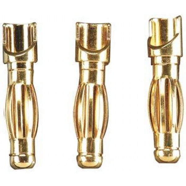 Gold Plated Bullet Connector Male 4mm (3)
