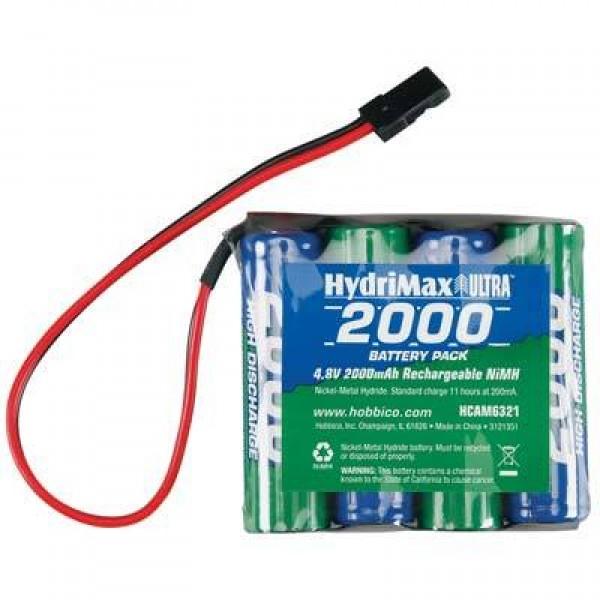 Hobbico NiMH Battery 2000mAh 4.8V (4S)