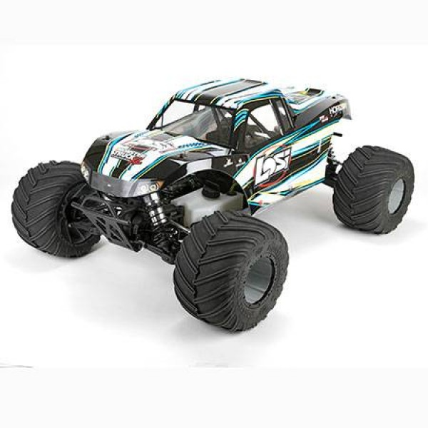 Losi Monster Truck XL: RTR AVC 1/5 4WD with 29CC gasoline engine