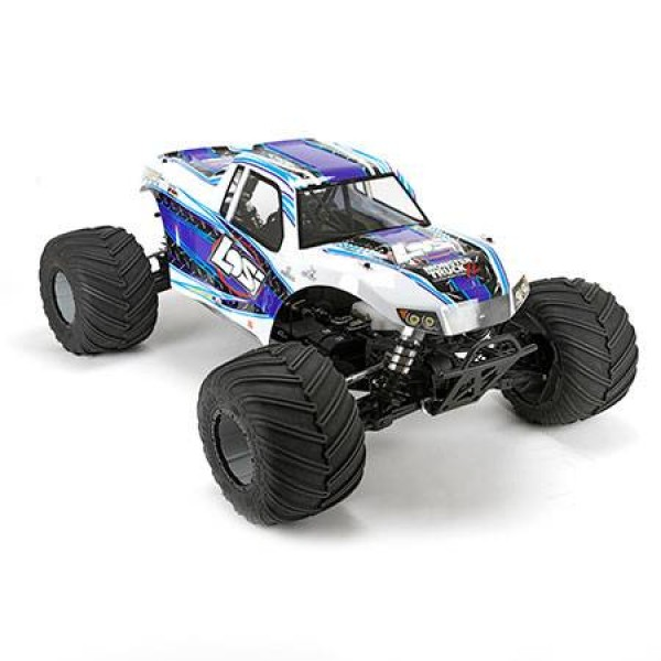 Losi 1/5 RTR Monster Truck XL 4WD Gasoline with AVC, White