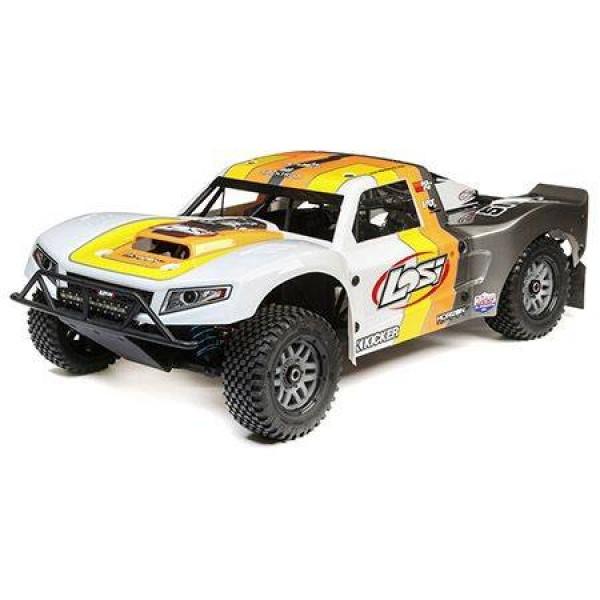 Losi 5IVE-T 2.0 1/5 Gasoline 4wd SCT BND, Grey / Orange / White