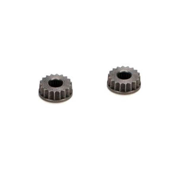 Losi Metal Servo Arm Insert, 24 Spline, Hitec (8X/8XE) (2)