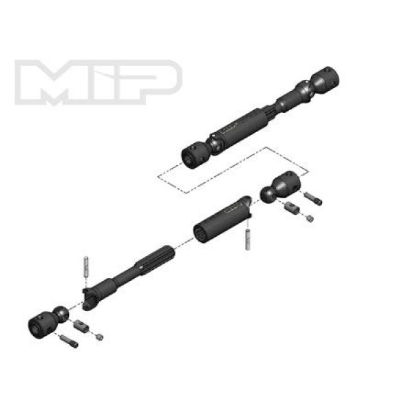 MIP HD Driveline Kit for TRX-4 Bronco