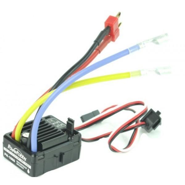 Power Hobby Waterproof Brushed Crawler ESC (2-3S)