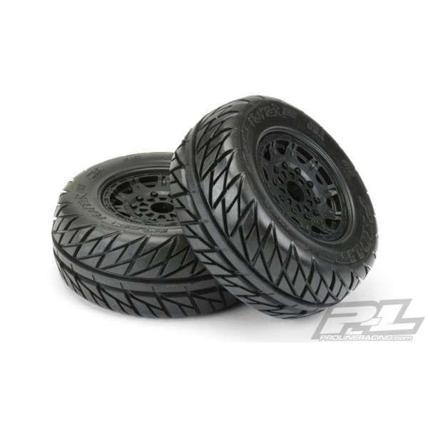 "Pro-Line Street Fighter SC 2.2""/3.0"" Mounted Tires with 17mm Hex (2)"