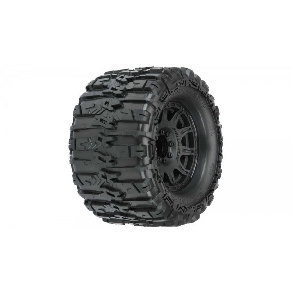 "Pro-Line Trencher HP 3.8"" All Terrain HP 3.8"" Belted Tires, Mounted (2)"