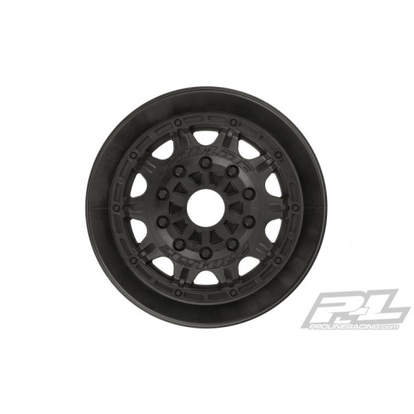 """Pro-Line Raid 2.2""""/3.0"""" Black Wheels for SC with 17mm Hex (2)"""