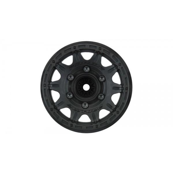 """Pro-Line Front/Rear Raid 2.8"""" Black 6x30 Removable Hex Wheels (2)"""
