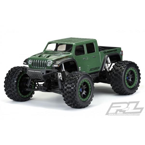 Pro-Line Pre-Cut Jeep Gladiator Rubicon Clear Body X-MAXX