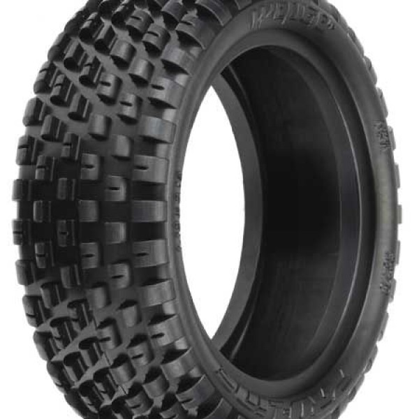 "Pro-Line Wedge Low Profile 2.2"" 4WD Z3 Carpet Buggy Front Tires (2)"