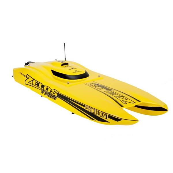 Pro Boat Zelos 36 Twin Catamaran BL RTR